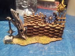 trees and walls and fences oh my 40k terrain warhammer 40k