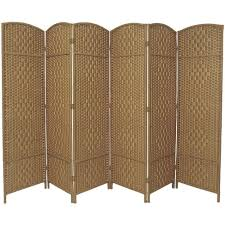 Wicker Room Divider Made Wicker Room Divider Choice Of Size Colours Freedom