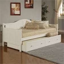White Trundle Daybed White Daybeds Cymax Stores