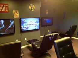 bedroom sweet awesome video game room basement home theatergame