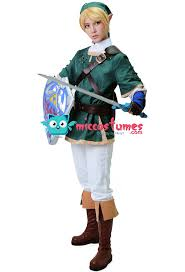 Zelda Halloween Costumes Zelda Twilight Princess Link Cosplay Costume Sale