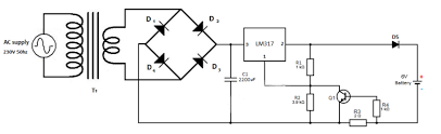 6v lead acid battery charger circuit