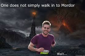 Good Looking Guy Meme - ridiculously good looking guy in mordor memes quickmeme