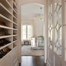 magnificent mirrored chest of drawers in closet traditional with