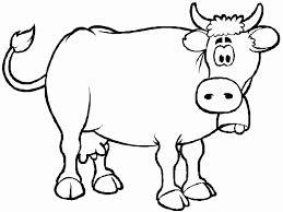 a cartoon cow