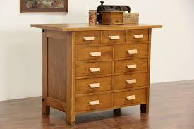 Stickley Kitchen Island Sold Workbench From 1930 U0027s Vintage High Wood Shop Or