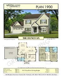 tiny house prints plan 1900 the donovan house plans 2 story house plan