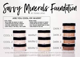 savvy minerals foundation young living essential oils guide