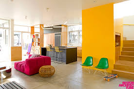 modern home colors interior home with colorful interior by barbara bestor
