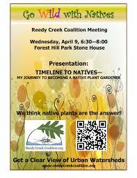 chesapeake bay native plants value of native plants reedy creek coalition