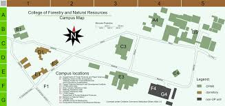 University Of Montana Campus Map by