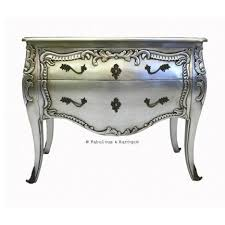 Silver Leaf Nightstand Modern Baroque Furniture And Interior Design U2013 Fabulous And Baroque