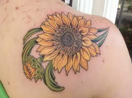 sunflower tattoo designs sunflower tattoo tattoos sunflower