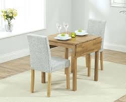 Oak Dining Table And Fabric Chairs Space Saving Dining Set Oxford Solid Oak Extending Dining Table