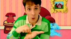 blue u0027s clues 01x14 blue play song game video dailymotion