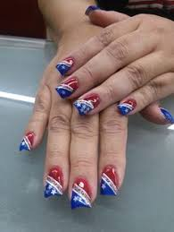 fourth of july nail art by ivy nguyen nails pinterest ivy