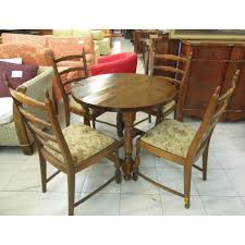 michael u0027s 8663 small spanish style dining table 4 chairs