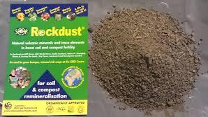 seer rockdust garden minerals 1 8kg bag re mineralisation the soil