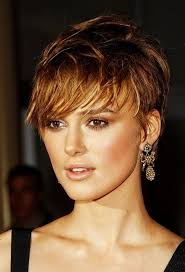 photo short layered hairstyles for women with round faces this
