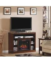 Electric Fireplace Tv Stand Electric Fireplace Tv Stands U0026 Entertainment Centers Bhg Com Shop