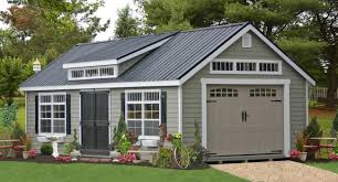 modular garages with apartment one car prefab car garages 100 u0027s of choices amish built