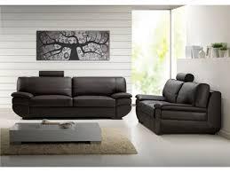 canapé cuir noir 2 places canapé et fauteuil cuir de vachette 5 coloris california ii