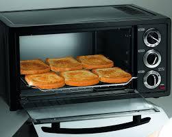 Spacesaver Toaster Oven Amazon Com Hamilton Beach 31409 6 Slice Toaster Oven Kitchen