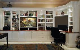 In Wall Bookshelves by Remodelaholic Build A Wall To Wall Built In Desk And Bookcase In