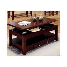 Lift Top Coffee Tables Storage Lift Top Coffee Table In Cherry Finish With Storage