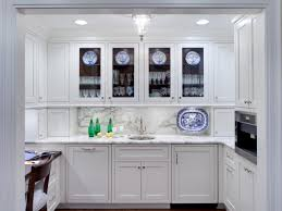 frosted glass basic low cost diy ways give kitchen cabinets