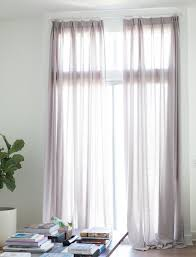canvas extra long curtains warm gray custom drapery u2013 loft curtains
