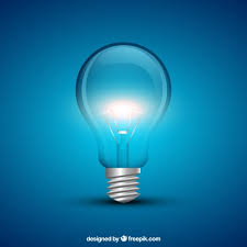 Glowing Light Bulb Vector Free Download