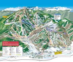 Breckenridge Map Trail Map Guides Skiing