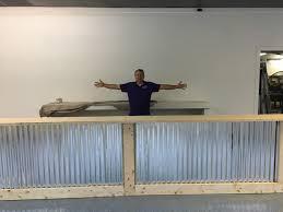 Industrial Reception Desk by The Vapor 16 U0027 Corrugated Metal Rustic Or Industrial Sales