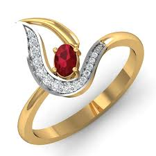 ruby rings designs images Ruby ring design 0 25 ct real certified diamond gold weekend jpg&a