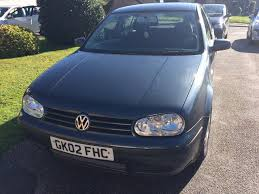 2002 volkswagen golf se tdi pd 100 manual in falmouth