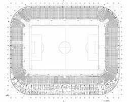 stadium floor plans stadium floor plans best of lublin city stadium estudio lamela new