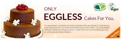 only eggless egg free cakes