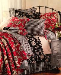 bedding set black and white toile bedding inspirational black