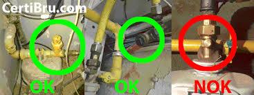 norme robinet gaz cuisine attestation de conformité des installations de gaz et schéma
