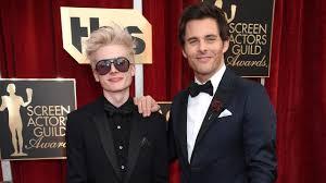 james marsden takes 15 year old son jack to sag awards 2017