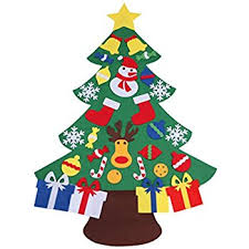 assis 2017 new 3ft felt tree set with