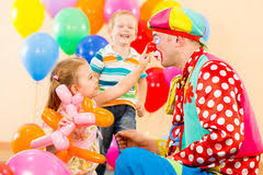 two cheerful clowns birthday children bright stock photo happy children stock images 333 595 photos