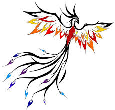 phoenix tattoo idea i want it flying up my side tats