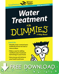 Home Design For Dummies Water Treatment For Dummies Wqa Special Edition