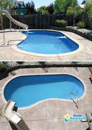 medium sized Columbia Kidney Fiberglass Pool by Trilogy