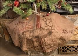nwt 48 rustic deer reindeer printed burlap lodge cabin