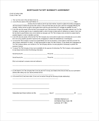 10 indemnity agreements free sample example format free