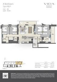floor plans vida residences dubai mall emaar properties