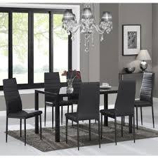 dining room sets 7 piece modern 7 piece dining room sets allmodern